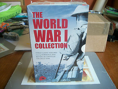 The WORLD WAR 1 COLLECTION of 3 P/B BOOKS NEW SEALED  FREE POST