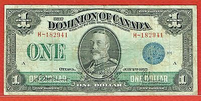 3 Different Canada 2.7.1923 $1.00 Sold As A Lot