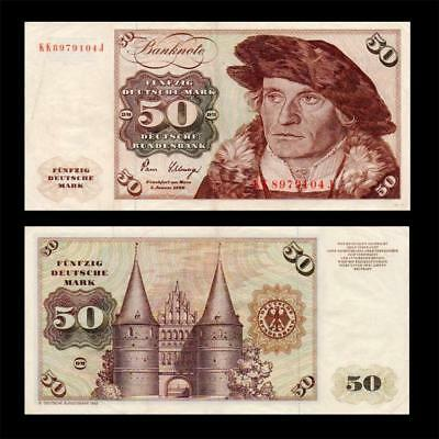 1980 Germany Federal Rep., 50 Deutsche Mark - » Best Note «