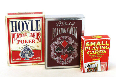 Lot Of Three Decks of Playing Cards