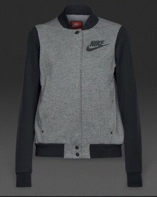 Girls Nike Tech Fleece Destroyer Jacket (830574 091) Medium Age 10-12 Years BNWT