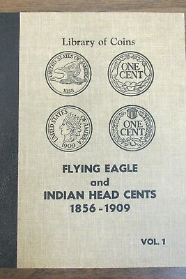 Flying Eagle and Indian Head Cent Collection in Vintage Album - Lacks 10 Coins