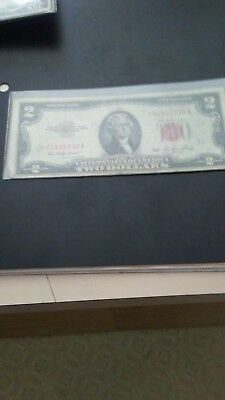 1953 2$ Red Seal STAR note