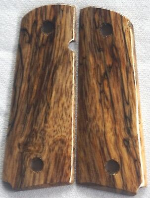 1911 GRIPS 4 FULL SIZE COLT, Springfield,Charles Daly SPALTED MANGO S-10 NICE! !