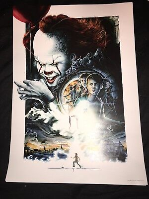IT Horror Movie Poster - Exclusive A3 Art Print