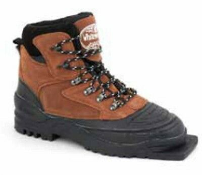 NEW WHITEWOODS 75mm 3-pin LEATHER XC cross country BOOTS - size 36, 43