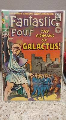Fantastic Four 48, First appearance of silver surver and Galactus! Silver Age!!!