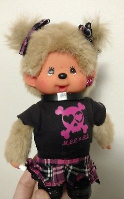Monchhichi Doll x Robochris Plush Girl Figure Cute Baby Import Limited Edition