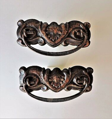 Vintage Copper Drawer Pulls