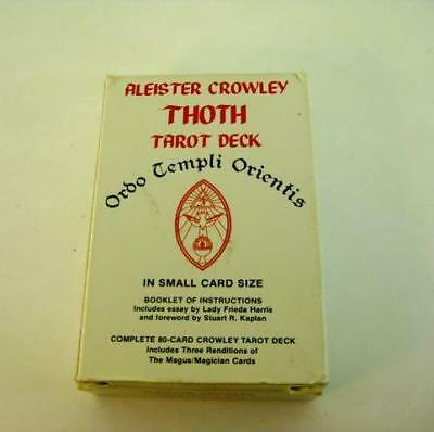 Vintage US Games Aleister Crowley Thoth Tarot Deck Ordo Temple Orientis