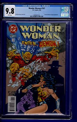 Wonder Woman #107 Cgc 9.8 White Pages
