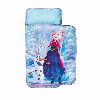 Official Disney Frozen All In One Cosy Wrap Nap Bed Kids Ready Bed New