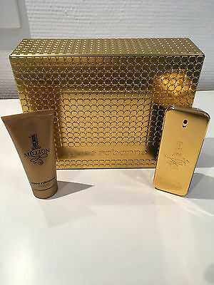 Paco Rabanne One Million 100ml EDT Spray + 100ml Duschgel im Set OVP!!