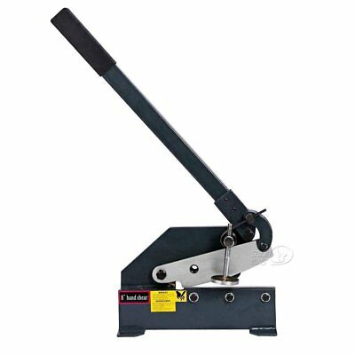 8-In Manual Hand Plate Shear Solid & Precise Heavy-Duty Sheet Metal Plate Shear