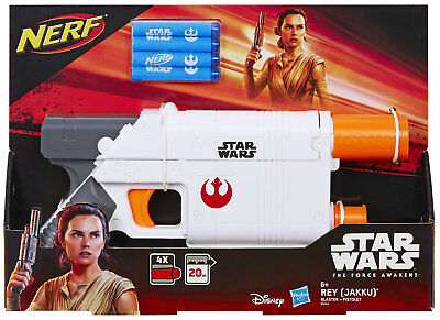 Hasbro Nerf Star Wars Episode 7 Rey Blaster with Internal Magazine for 4 Darts