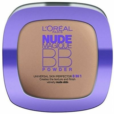 Loreal Nude Magique BB Powder Universal Skin Perfector 5 in 1 Light Skin SEALED