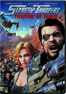 Starship Troopers: Traitors of Mars - DVD Region 1 Free Shipping!