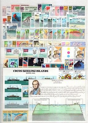 A36645/ Cocos (Keelings) – 1963 / 1991 Collection Neuve ** / Mint Mnh 169 €