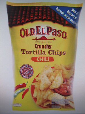 Old el paso, knusprige Tortilla Chips, Mais Chips Chili, 450g