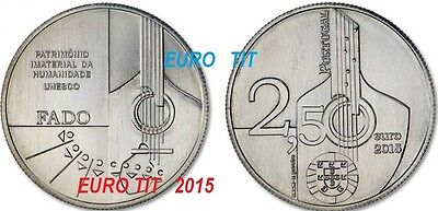 2,50  €     PORTUGAL    COMMEMORATIVE   2015       FADO   /   2015    disponible