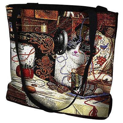 Woven Tote Bag - Maggie the Messmaker 976