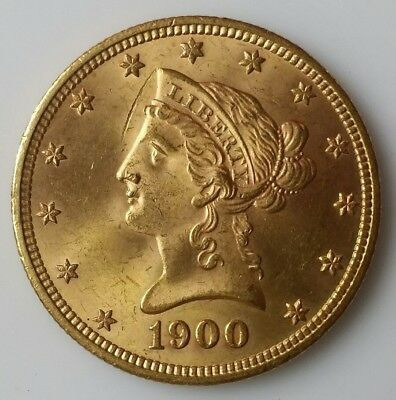 1900 $10 Liberty Head Gold Eagle