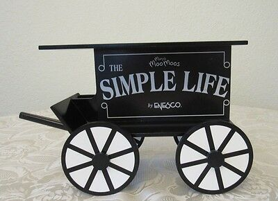 """Mary's Moo Moos """"The Simple Life"""" Display Cart 645486 **RARE AND HARD TO FIND!!*"""