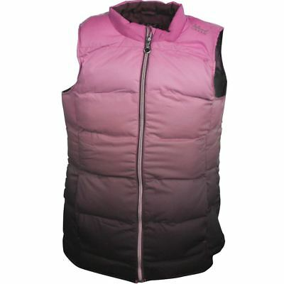 Island Green Padded  Sleeveless Gilet 12,16,18 Bright Pink-Grey Sublimation New