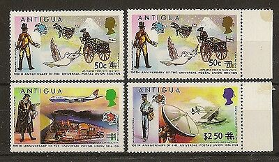 Anguilla 1975 Surcharges Mint