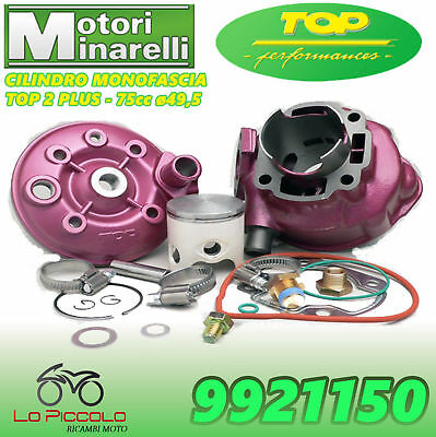 9921150 Gruppo Termico Racing 2 Plus Top 75 D.49,5 Am6 Yamaha Dt R 50 2006