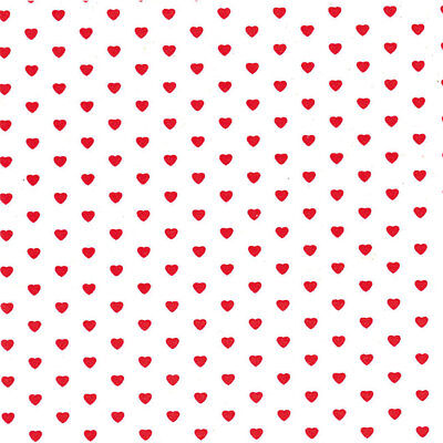 Little Hearts Tissue Paper Multi Listing 500x750mm