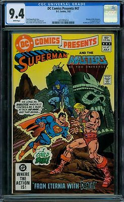 DC Comics Presents 47 CGC 9.4 - White Pages - No Reserve Auction - 1st He-Man