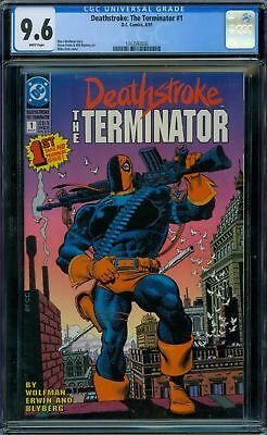Deathstroke: The Terminator 1 CGC 9.6 - White Pages - No Reserve Auction