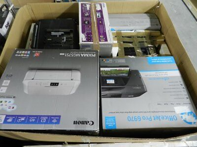 Job Lot x 18 Assorted Printers Canon HP Epson Samsung Business Office FOR PARTS