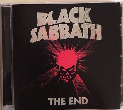 "Black Sabbath ""the End"" Rare Cd Neuf !"