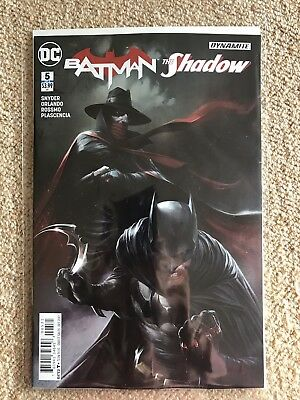 Batman The Shadow #5 - Mattina Variant - DC - 1st Print - NM
