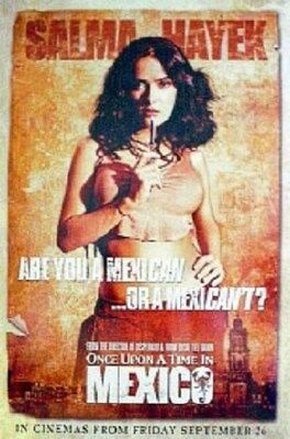 ONCE UPON A TIME IN MEXICO ~ SALMA HAYEK ADVANCE 24x36 MOVIE POSTER