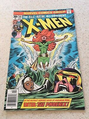 Uncanny X-men  101  VF/NM  9.0  High Grade  1st Phoenix   Wolverine