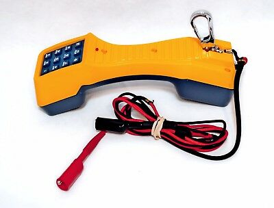 Fluke Networks Ts19 Professional Telephone Test Set With Alligator Clips