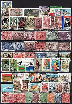 176 - AUSTRALIA - 150 Different Used Stamps