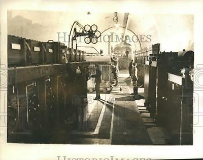 1940 Press Photo Underground Electric Power House In The French Maginot Line