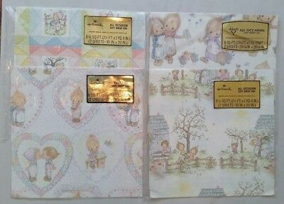 Vintage Hallmark Betsey Clark Gift Wrap 8 Sheets