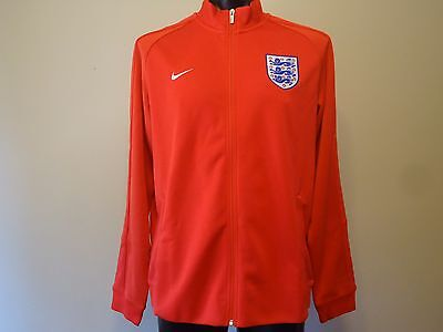 England Official Licensed Nike Jacket Red Mens Xl New
