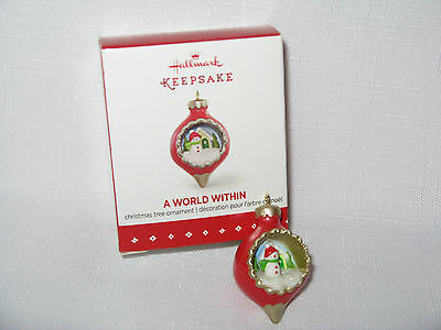 2015 Hallmark A World Within Christmas Miniature Mini Ornament #1 2017
