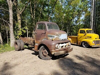 1951 Ford Other Pickups  1951 Ford COE Cabover Truck Stubnose  old farm truck
