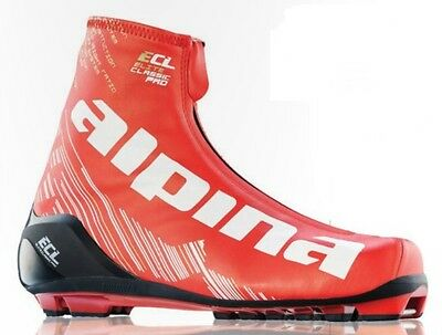NEW ALPINA ECL PRO Ultra Classic Racing SKATE SKATING BOOTS - 38