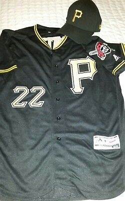 Pittsburgh pirates Jersey McCutchen and Fitted Cap