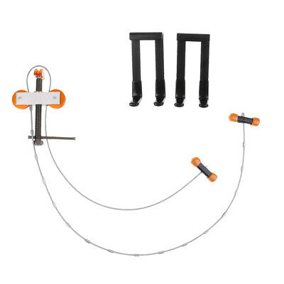 """Universal 3/4"""" Bow Press with Quad Limb L Brackets for Archery Compound Bow"""