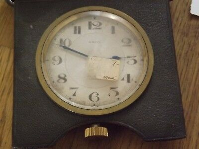 Interesting Antique 8 Day Travel Time Piece