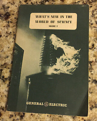 Vintage 1946 GE General Electric Booklet - What's New in the World of Science 5